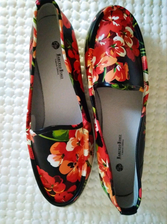 Винтаж: Слипоны из натуральной кожи 37 размер Barcelo Biagi, Испания, Обувь винтажная, Фирово,  Фото №1