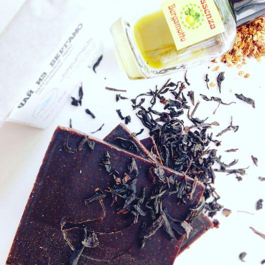 """Мыло ручной работы. Ярмарка Мастеров - ручная работа. Купить Натуральное мыло """"Чай из Бергамо"""". Handmade. Натуральное мыло"""