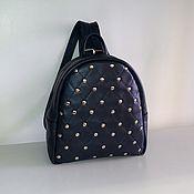 Сумки и аксессуары handmade. Livemaster - original item Backpack leather 176. Handmade.