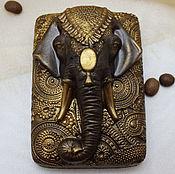 Косметика ручной работы. Ярмарка Мастеров - ручная работа Мыло-скраб кофейное Индийский слон. Handmade.