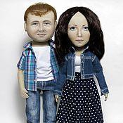 Куклы и игрушки ручной работы. Ярмарка Мастеров - ручная работа Куклы портретные. Пара №3. Handmade.