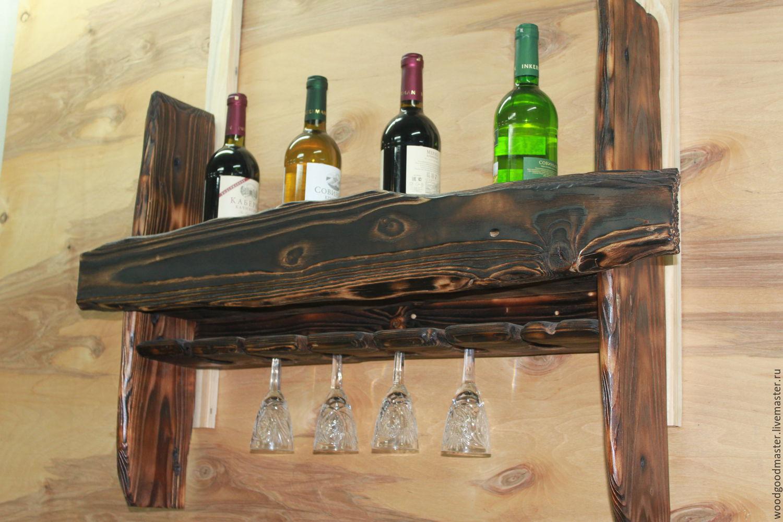 Мебель для бутылок своими руками