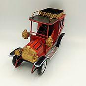 Скульптуры ручной работы. Ярмарка Мастеров - ручная работа Ретро-модель английского автомобиля для декора  (№8959). Handmade.