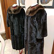 Одежда ручной работы. Ярмарка Мастеров - ручная работа Шуба из норки, перешив. Handmade.