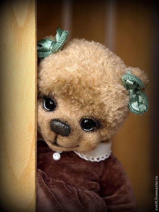 Мишки Тедди ручной работы. Ярмарка Мастеров - ручная работа. Купить Софья. Handmade. Бежевый, мишка тедди крючком