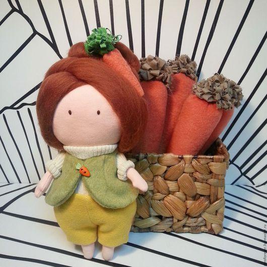 Куклы Тильды ручной работы. Ярмарка Мастеров - ручная работа. Купить текстильная кукла. Handmade. Комбинированный, кукла в подарок