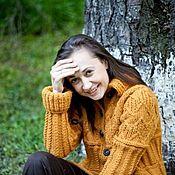 """Одежда ручной работы. Ярмарка Мастеров - ручная работа Пальто """"Осенний блюз"""". Handmade."""