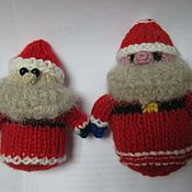 Подарки к праздникам ручной работы. Ярмарка Мастеров - ручная работа Дедушка Мороз. Игрушка. Handmade.