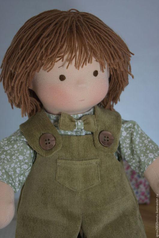 Вальдорфская игрушка ручной работы. Ярмарка Мастеров - ручная работа. Купить Андрейка- куколка по вальдорфским мотивам. Handmade. Кукла в подарок