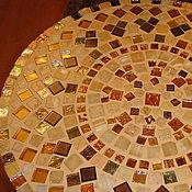 """Для дома и интерьера ручной работы. Ярмарка Мастеров - ручная работа Столик """"Восторг"""" мозаика. Handmade."""