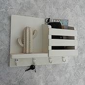 Для дома и интерьера handmade. Livemaster - original item Housekeeper organizer wall mounted white. Handmade.