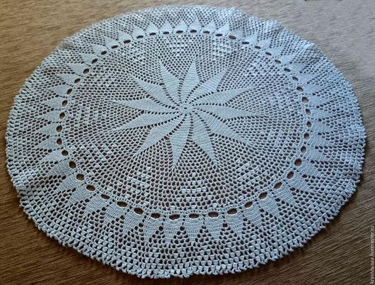 Текстиль, ковры ручной работы. Ярмарка Мастеров - ручная работа. Купить Салфетка №3. Handmade. Белый, салфетка, белая