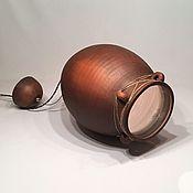 Для дома и интерьера handmade. Livemaster - original item Large ceramic lamp