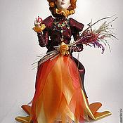 """Куклы и игрушки ручной работы. Ярмарка Мастеров - ручная работа Авторская коллекционная кукла """"Осень"""". Handmade."""