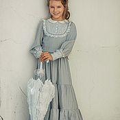 """Работы для детей, ручной работы. Ярмарка Мастеров - ручная работа Платье """"Есения"""". Handmade."""