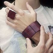 Украшения ручной работы. Ярмарка Мастеров - ручная работа Перстень квадрат (плоская форма). Handmade.