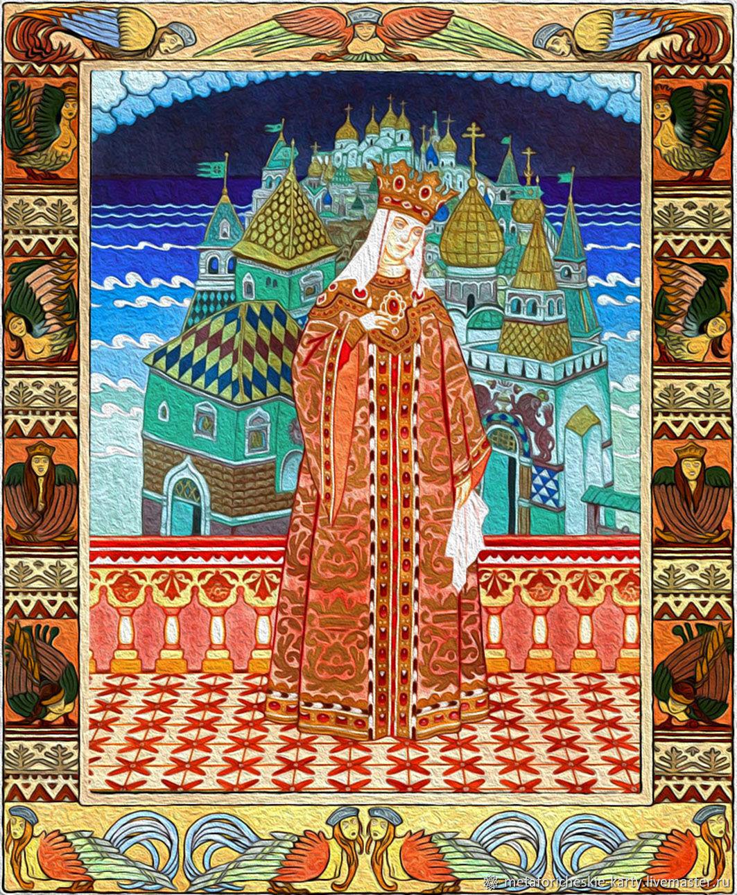 Metaphorical Associative Maps ' visiting a fairy tale', Tarot cards, Gelendzhik,  Фото №1