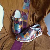 Обувь ручной работы handmade. Livemaster - original item Painting on shoes. Szabo,