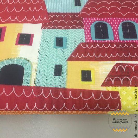 Шитье ручной работы. Ярмарка Мастеров - ручная работа. Купить 100% хлопок, Франция, город Монтероссо цветной. Handmade. Хлопок