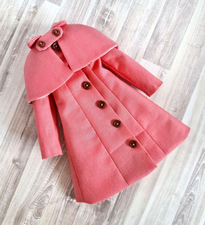 Пальто для блайз с пелериной, Одежда для кукол, Благовещенск,  Фото №1