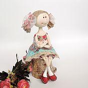 Куклы и игрушки ручной работы. Ярмарка Мастеров - ручная работа Текстильная кукла ручной работы Маняша. Handmade.