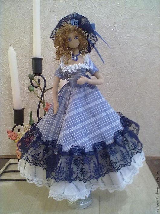 Человечки ручной работы. Ярмарка Мастеров - ручная работа. Купить Кукла Карина. Handmade. Тряпиенсы, тряпичная игрушка, синтепон, кружево