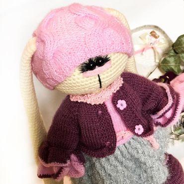 Куклы и игрушки ручной работы. Ярмарка Мастеров - ручная работа Зайка Мирцелла. Handmade.