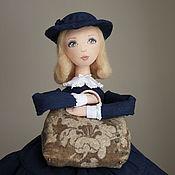 Куклы и игрушки ручной работы. Ярмарка Мастеров - ручная работа Мэри Поппинс - подвижная текстильная кукла. Handmade.