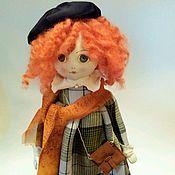 Куклы и игрушки ручной работы. Ярмарка Мастеров - ручная работа Кукла Лизонька. Художница. Handmade.