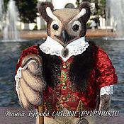 Куклы и игрушки ручной работы. Ярмарка Мастеров - ручная работа Филин Аристарх. Handmade.