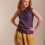 Одежда ручной работы. Ярмарка Мастеров - ручная работа Валяная юбка Шафран. Handmade.