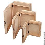 Материалы для творчества handmade. Livemaster - original item Mk262212 matryoshka boxes 3 in 1 blank-book 26 22 12 for decoupage. Handmade.