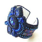 """Украшения ручной работы. Ярмарка Мастеров - ручная работа """"Индиго"""" браслет. Handmade."""