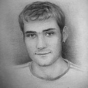 Картины и панно ручной работы. Ярмарка Мастеров - ручная работа Портрет с натуры. Handmade.