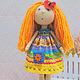 Коллекционные куклы ручной работы. Ярмарка Мастеров - ручная работа. Купить Курортница. Кукла-милашка игровая. Handmade. Рыжий