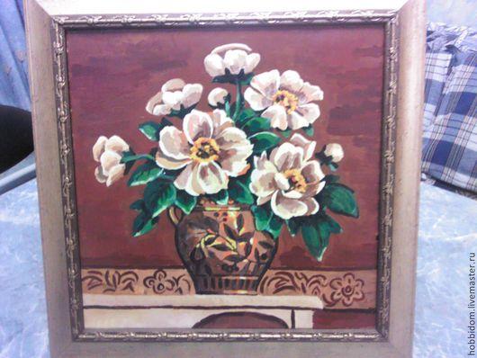 Картины цветов ручной работы. Ярмарка Мастеров - ручная работа. Купить Картина Букет лета. Handmade. Картина маслом, для интерьера