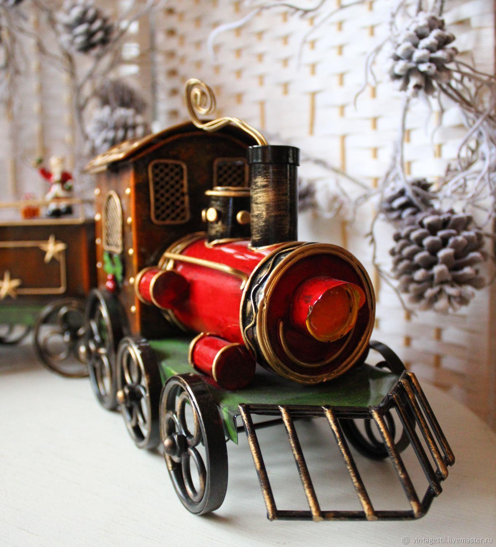 Винтаж: Новогодний поезд, Предметы интерьера винтажные, Гиссен,  Фото №1