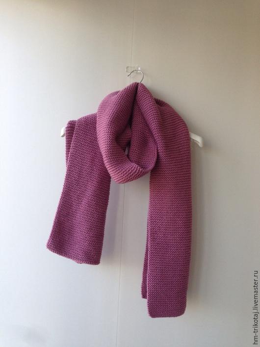 Шарфы и шарфики ручной работы. Ярмарка Мастеров - ручная работа. Купить Длинный объемный шарф. Handmade. Розовый, объемный шарф