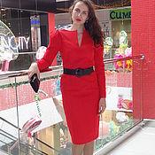 """Одежда ручной работы. Ярмарка Мастеров - ручная работа Платье 46 размера """"Огненный цветок"""". Handmade."""