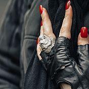Украшения handmade. Livemaster - original item Ring Ring Tiger. Handmade.