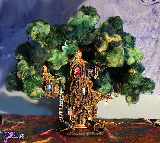 Кукольный дом ручной работы. Ярмарка Мастеров - ручная работа. Купить Волшебное дерево-дом. Handmade. Волшебство, кукольный дом