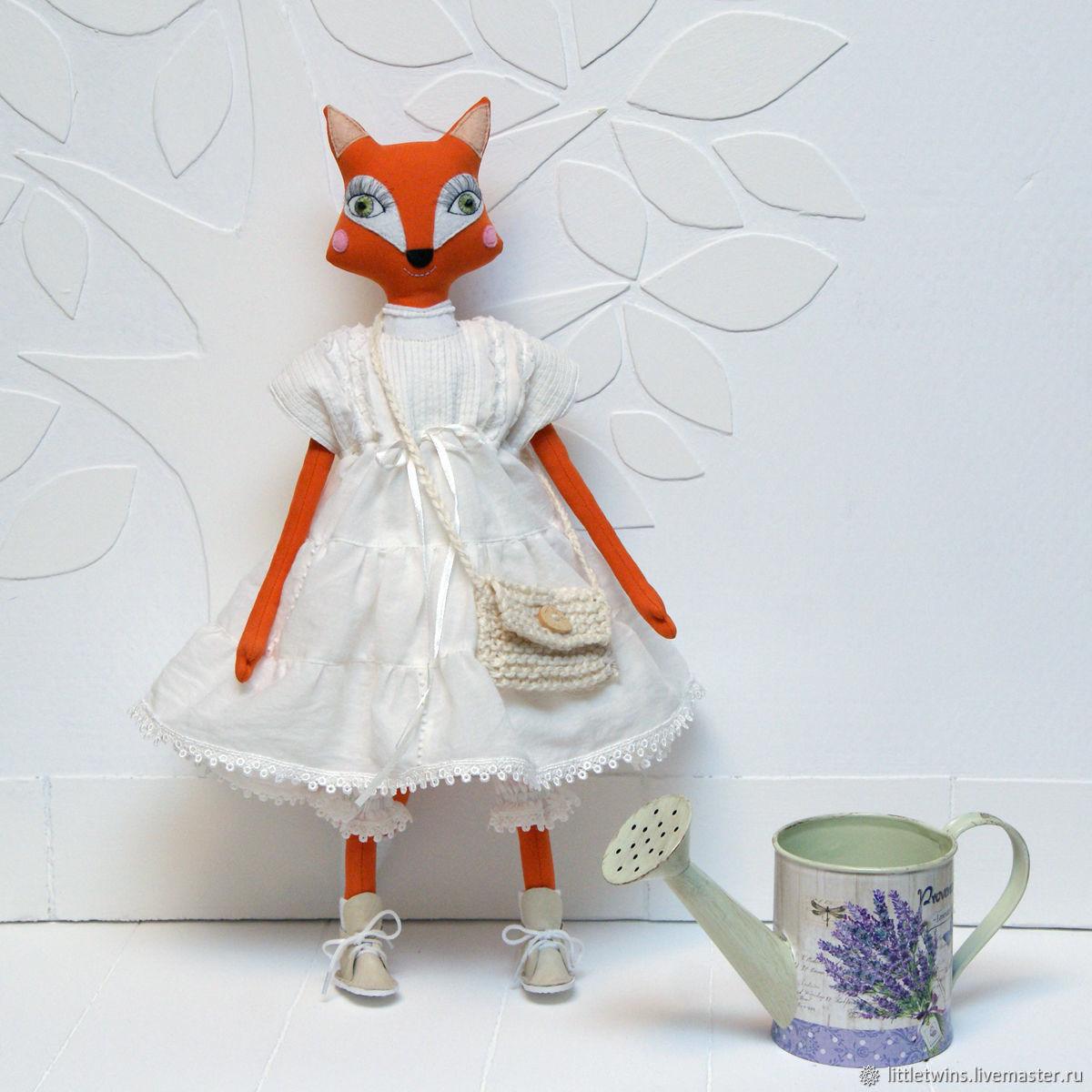 Boho style Fox toy, Stuffed Toys, St. Petersburg,  Фото №1