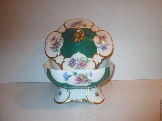 Винтажная посуда. Ярмарка Мастеров - ручная работа. Купить Старинная ваза, конфетница,бонбоньерка. Handmade. Старинные вещи, старинная бонбоньерка