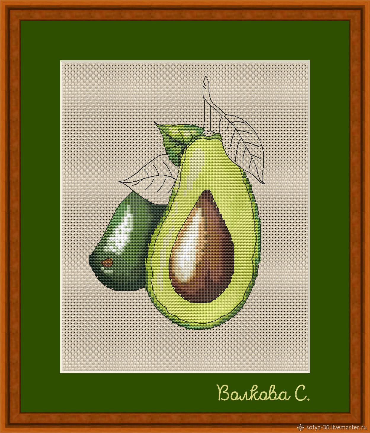 """Схема для вышивки """"Авокадо"""", Схемы для вышивки, Курск,  Фото №1"""