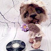 Куклы и игрушки ручной работы. Ярмарка Мастеров - ручная работа мишутка Машенька. Handmade.