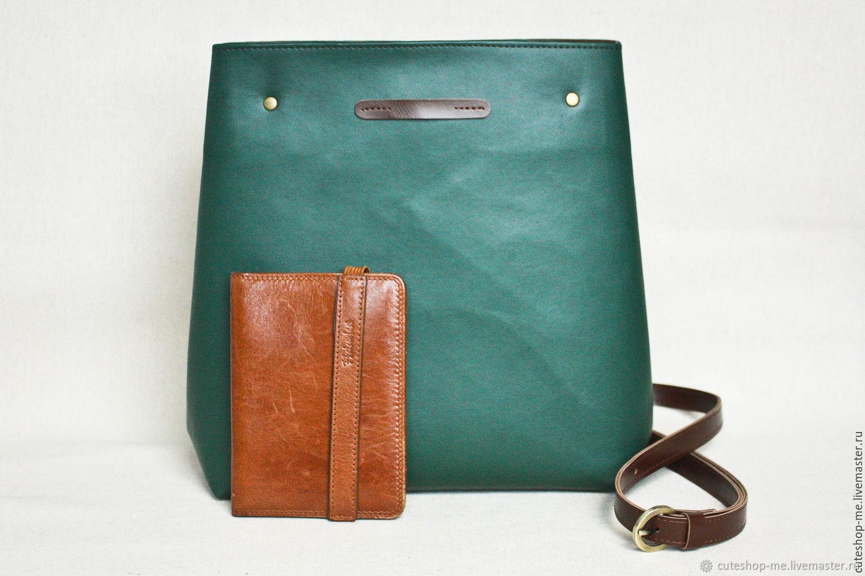 021b462164ac Сумка-рюкзак трансформер из экокожи темного изумрудного цвета ...