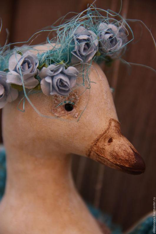 Ароматизированные куклы ручной работы. Ярмарка Мастеров - ручная работа. Купить Птица Асман (небесная). Handmade. Бирюзовый, птица
