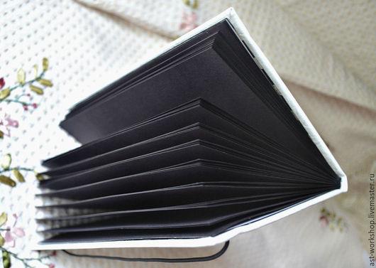 """Блокноты ручной работы. Ярмарка Мастеров - ручная работа. Купить Блокнот ручной работы """"Черное и белое"""". Handmade. Чёрно-белый"""