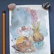 Картины и панно ручной работы. Ярмарка Мастеров - ручная работа Матушка Мышь. Handmade.