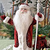 Куклы и игрушки ручной работы. Ярмарка Мастеров - ручная работа Дедушка Мороз. Handmade.